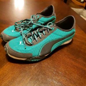 Puma Sneakers Teal&Gray 7.5M